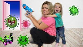 Милена и детские истории про вирусы