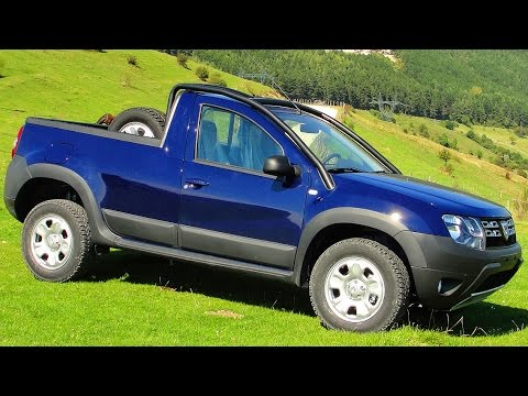 romturingia dacia duster pickup 4x4 2014 1 5 dci turbo diesel 110 cv youtube. Black Bedroom Furniture Sets. Home Design Ideas
