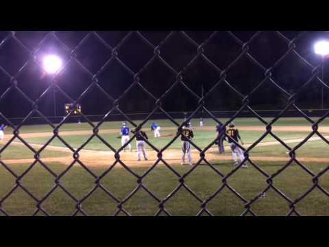 Schreiner caps wild rally for Northwestern baseball in league semis