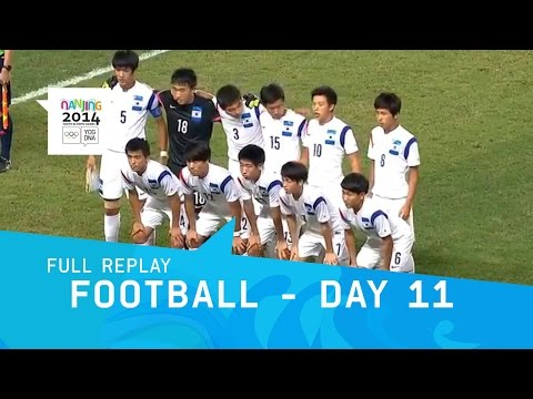 Football- Peru v Republic of Korea Gold Medal Match | Full Replay | Nanjing 2014 Youth Olympic Games
