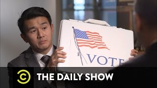 America's Voting Machines Are F**ked: The Daily Show