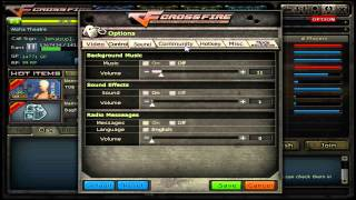My Crossfire Settings
