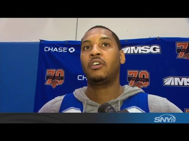 Carmelo Anthony talks Knicks 6-game losing streak