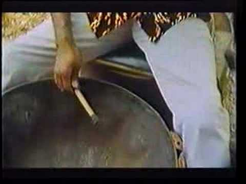 Making a Steel Drum Steel Pan Tenor Pan Video