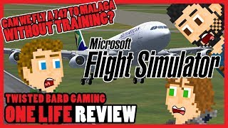 Microsoft Flight Simulator X - One Life Review 50th Episode Special #2