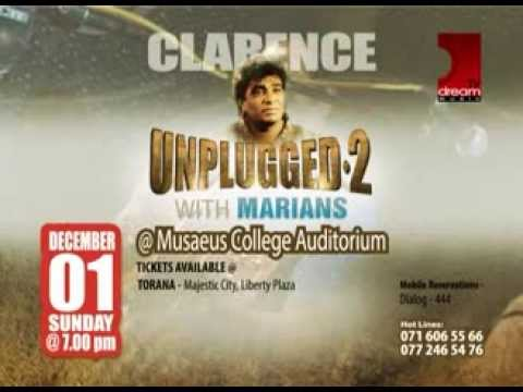 Clarence Unplugged 2 With Marians Teaser 2 - Www.music.lk video