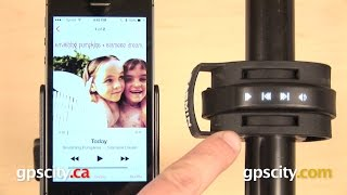 04. Garmin vivosmart: Music Control with GPS City