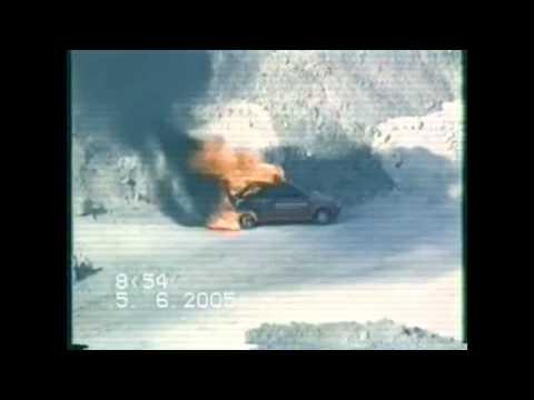 Zavoli Bonfiretest Gasanlage Auto