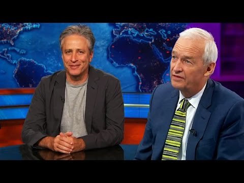 Jon Stewart on Cameron vs Miliband and Bush vs Clinton