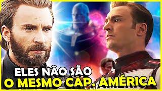 VAZAMENTO SUGERE CAPITÃO AMÉRICA DE OUTRA REALIDADE