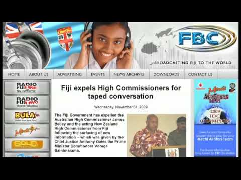 Radio Fiji - Audio of Australian visa officer
