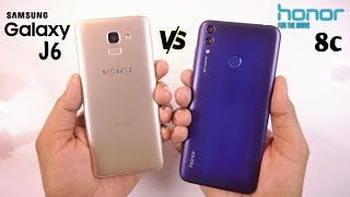 Honor 8c vs Samsung Galaxy J6 Speed Test & Comparison [Urdu/Hindi]