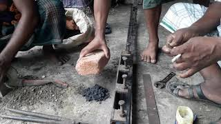 Primitive Technology: Wood Cutting Blade Fixing to Cutting in Saw Mill/ BD Wood Cutting Saw Mill