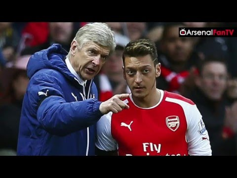 Brilliant New Mesut Ozil Chant!! | Arsenal Fans At Stoke Away
