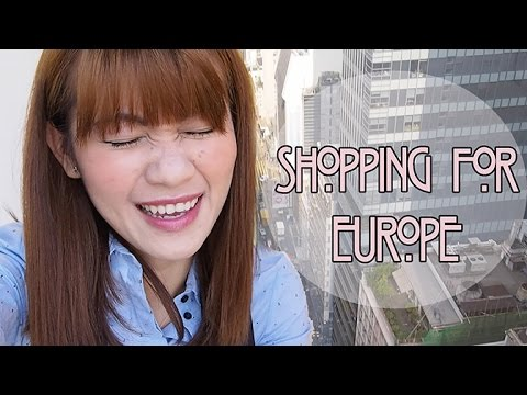 #14 Beauty Day & Shopping for Europe