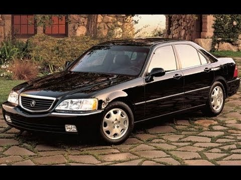 2000 Acura RL Start Up and Review 3.5 L V6