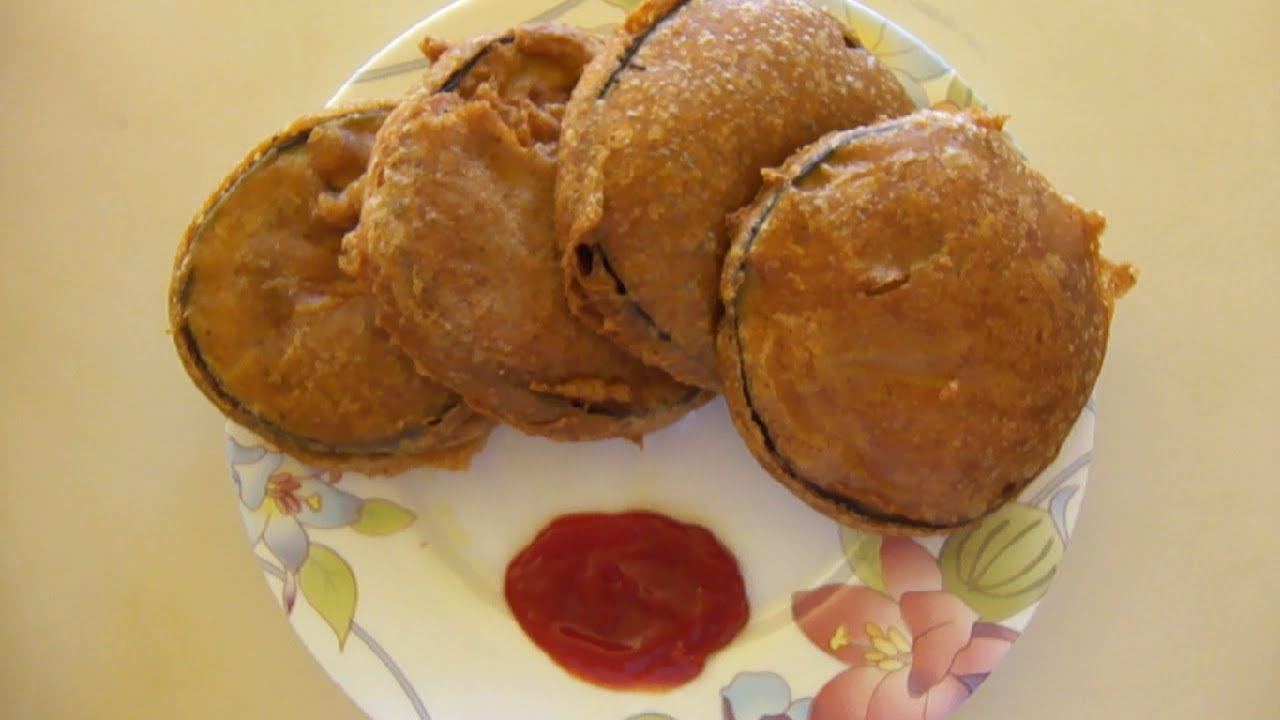 HD] Batter Fried Eggplant Bengali-style! / বেগুনী (Beguni ...