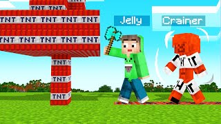 MINECRAFT But EVERYTHING You TOUCH = TNT!