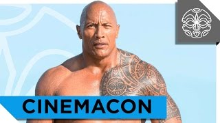 "The Rock, Zac Efron, and Priyanka Chopra Presents the ""Baywatch"" Trailer at Cinemacon"
