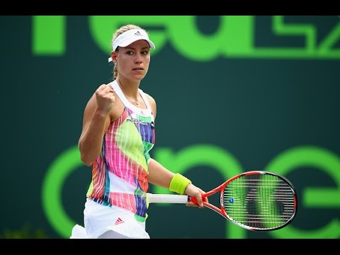 2016 Miami Open Third Round | Angelique Kerber vs Kiki Bertens | WTA Highlights