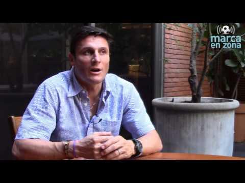Javier Zanetti habla de la candidatura de Figo en la FIFA y sobre la Copa América