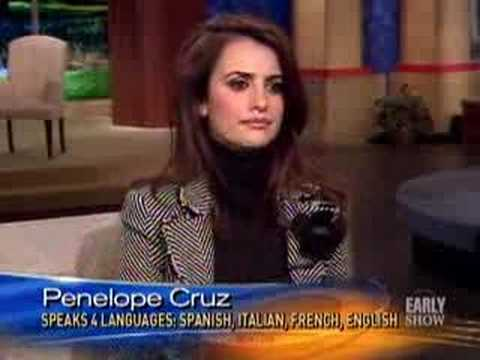 Oscar Buzz: Penelope Cruz (CBS News)