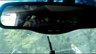 How To Remove The Rear View Mirror Gmc Yukon Denali Chevy Silverado avalanche