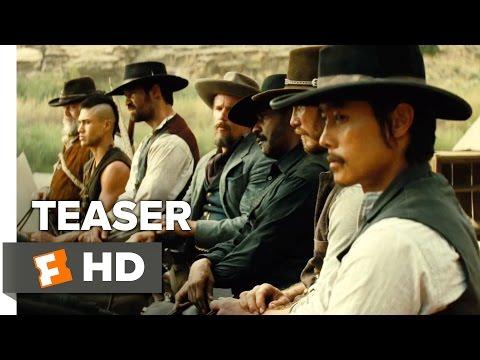 The Magnificent Seven TEASER TRAILER 1 (2016) - Denzel Washington Western HD