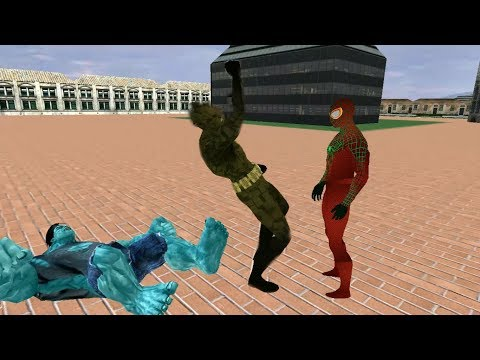 Hybrid Spider Superhero crime Battle | Superhero vs Monste,r Bat, Ninja Villains | Android GamePlay