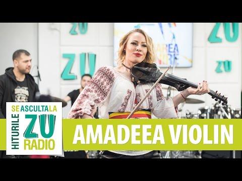 Amadeea Violin - Rapsodia Romana / Ciocarlia / Ciuleandra (Live la Marea Unire ZU)