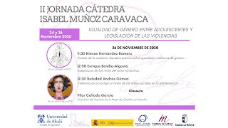 II Jornada de la Cátedra Isabel Muñoz Caravaca · 26/11/2020