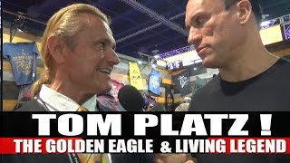 The Golden Eagle TOM PLATZ! | 2016 Mr.Olympia Expo!