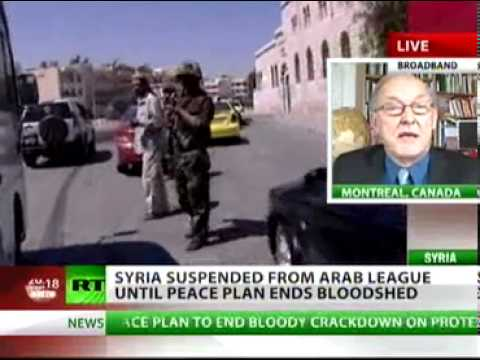 Chossudovsky: Arab League Gives US-NATO Green Light to Intervene in Syria