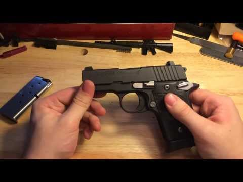 Sig p938 review and disassembly