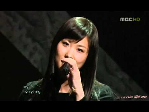 [Vietsub] CSJH The Grace - My Everything (Live)