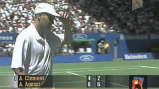 Agassi v Clément: 2001 Australian Open Men's Final Highlights