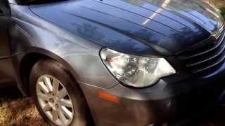 Chrysler Sebring Chrysler 200 cabin air filter replacement. Cabin air filter install