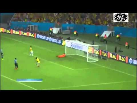 Colombia vs Uruguay | Best Goal in  WorldCup2014 James Rodriguez's