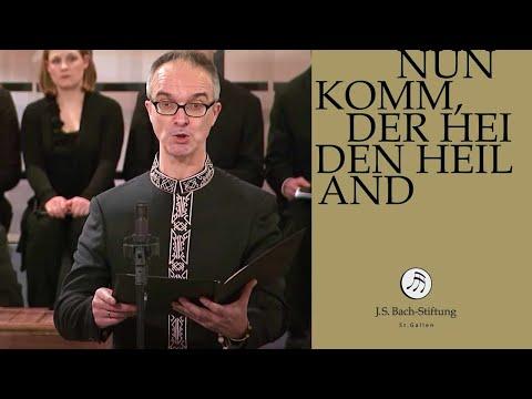 Бах Иоганн Себастьян - Cantata BWV 61 - Nun komm, der Heiden Heiland