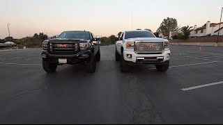 LIFTED VS LEVELED