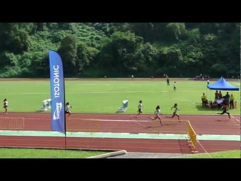 Women 100 Meter Dash Junior & Open 2 - 2013 SAA T&F Series 3