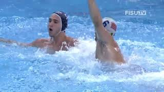 Water Polo Gold Italy vs USA Full Match Waterpolo Universiade 2019