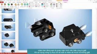 Tạo hiệu ứng 3D trong Powerpoint