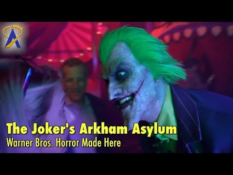 Batman Haunted House - Escape from Arkham Asylum at Warner Bros. Horror Made Here