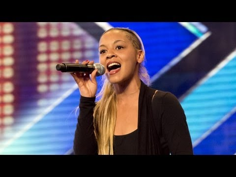Jade Ellis' audition - Maverick Sabre's I Need - The X Factor UK 2012