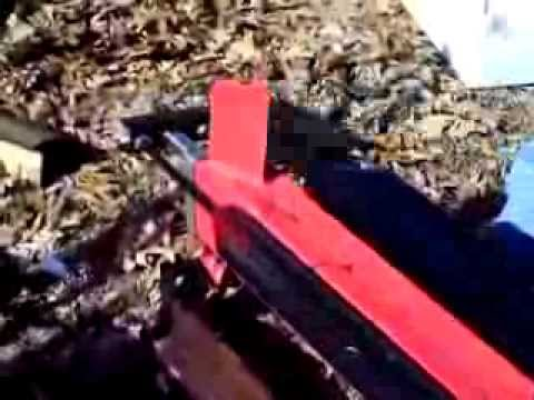 Harbor Freight 5 Ton Electric Log Splitter