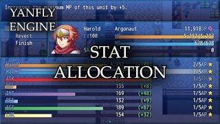 YEP.173 - Stat Allocation - RPG Maker MV