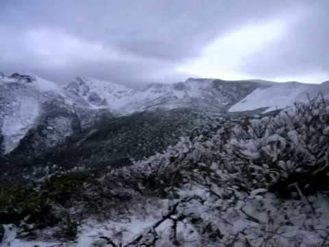 秋田駒ヶ岳 2010年11月12日