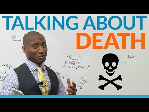 How to talk about DEATH in English