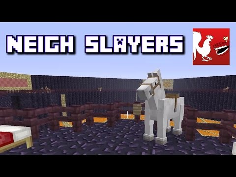 Things to do in Minecraft - Neigh Slayers